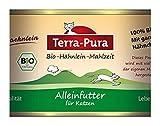Terra Pura Hähnlein-Mahlzeit 200g Bio Katzenfutter Glutenfrei