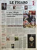 FIGARO (LE) [No 18900] du 11/05/2005 - FIGAROSCOPE - EN ATTENDANT DARK VADOR ET STAR WARS III - CLASSES PREPAS - DEUX FOIS PLUS DE TRAVAIL QU'EN FAC, MAIS LES ELEVES EN REDEMANDENT - LEGISLATION - LE CODE CIVIL DONNERA UN STATUT AUX ANIMAUX LA BELLE SANTE DE CANNES PAR JEAN-PAUL MULOT - ONU - KOFI ANNAN RATTRAPE PAR LES AFFAIRES - ITALIE - LE DOSSIER PASOLINI ROUVERT - FILLON ET DOUSTE-BLAZY EVOQUENT L'APRES-29 MAI - FOOTBALL - MONACO CONQUERANT - LES COULISSES DU DIVAN - VOYAGES - ILES DISCRE