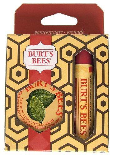 Burt's Bees Basic Set Pomegranate Lip Balm & Lemon Butter, 1er Pack -