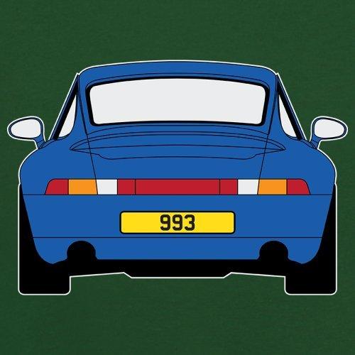 Porsche 993 Blau - Herren T-Shirt - 13 Farben Flaschengrün