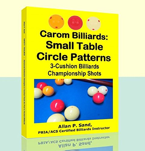 Carom Billiards: Small Table  Circle Patterns: 3-Cushion Billiards Championship Shots (English Edition)