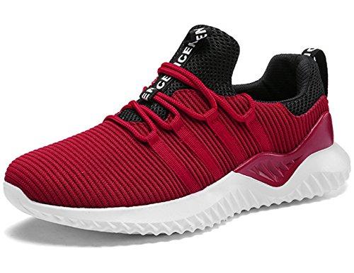 IIIIS-F Zapatillas de Running Deportes Aire Libre Zapatos para Correr Asfalto y Padel para Hombre