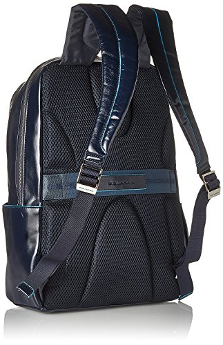 51J2DLwxffL - Piquadro Blue Square Mochila portaordenador con compartimentoportaiPad®/iPad®mini acolchado - CA3214B2