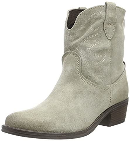Tamaris Women's 25702 Cowboy Boots, Beige (Taupe 341Taupe 341), 7.5 UK