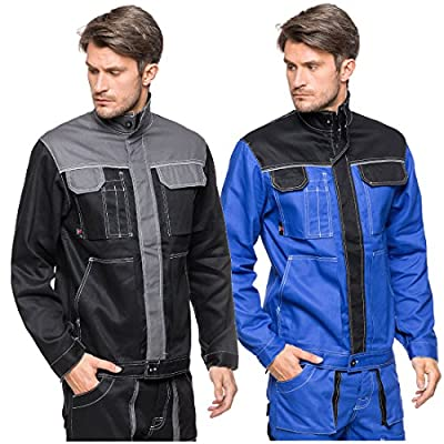 Arbeitsjacke 100% Baumwolle Sicherheitsjacke Arbeitskleidung Schutzjacke Jacke