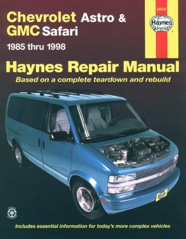 C Safari Mini Van '85'98 (Haynes Automotive Repair Manual Series) ()