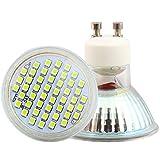 Leuchtmittel Spot LED GU102,5W 48SMD 2835Lampen LED AC220V 260LM 6500K kaltweiß 120° Abstrahlwinkel --- 1Stück