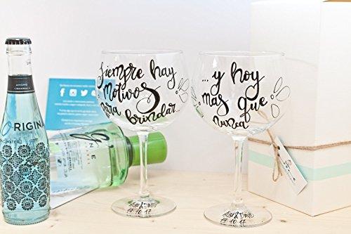 Copa de gin tonic personalizable - Copa personalizada para combinados