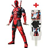Rubies - Disfraz de Deadpool para hombre, con kit de armas