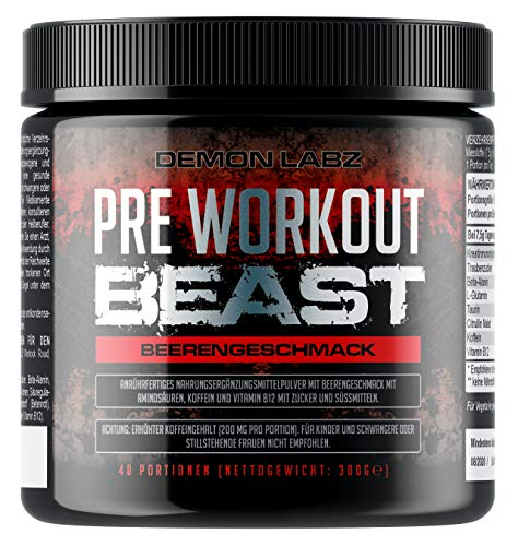 Demon Labz - Pre Workout Beast