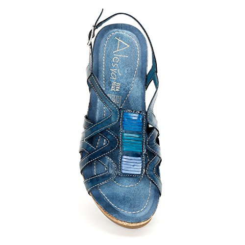ALESYA by Scarpe&Scarpe - Zeppe Donna Blue