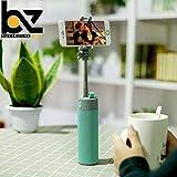 BUYERZONE WITH BZ LOGO Multi-Functional Wireless Selfie Stick, Bluetooth Speaker with 2000 mAh