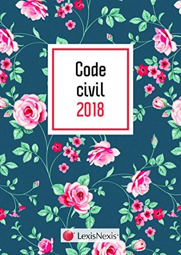 Code civil 2018 Motif fleuri et livret comparatif - Rforme du droit des contrats et des obligations: 37 me dition