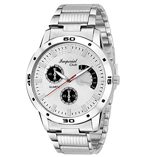 Imperial Club Analogue White Dial Mens Watch-Wtm-047