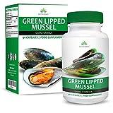 Moule à Lèvres Vertes - 500mg Extrait de Moule Verte - Green Lipped Mussel - Complément à Dosage Maximum pour Hommes, Femmes ET Animaux - 90 Comprimés (3 Mois d'Approvisionnement) de Earths Design