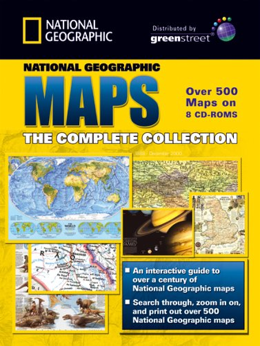 Greenstreet National Geographic Maps Collection - 8 Dv Case Pack (PC) Test