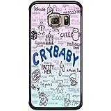 Cry Baby Song Art - Melanie Martinez Case / Color Black Plastic / Device Samsung Galaxy S6 Edge