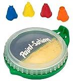 Paint-Sation 2440antigravitation Technologie Finger Federn gelb Regular und Blau Glitter Paint