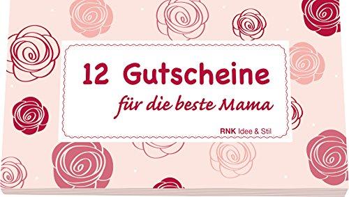 RNK 28724 Gutscheinheft für die beste Mama (Geschenke Für Mama Zum Geburtstag)