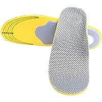 DODOING Komfort Orthopädische Einlegesohlen Flache Füße Arch Support Schuhe Dämpfung Sport Einlegesohlen Pads... preisvergleich bei billige-tabletten.eu