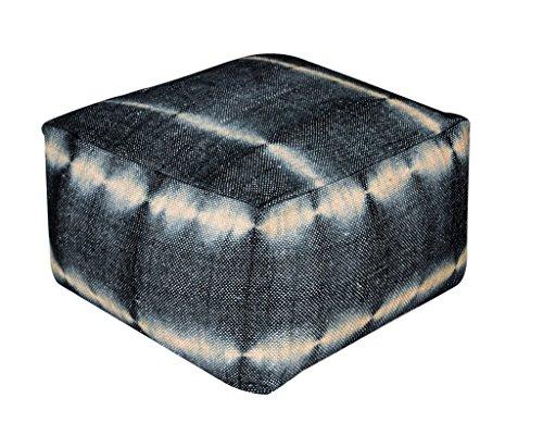 rugs2clear-fait-main-charbon-de-bois-la-laine-sans-pour-autant-remplisseuse-okibo-pouf-55cm-x-55cm-x