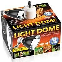 Exo Terra PT2055 Light Dome Fixture, 14 cm