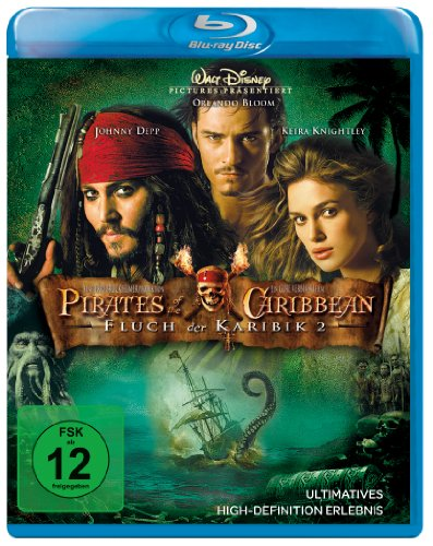 2 - Pirates of the Caribbean (2 Discs) [Blu-ray]