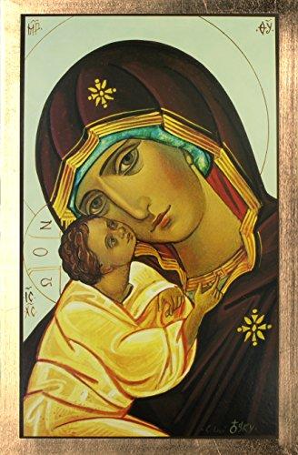 - SYMBOL Druck Madonna/Kind Goldkante cm 33x 22 (Ferrari Home Decor)
