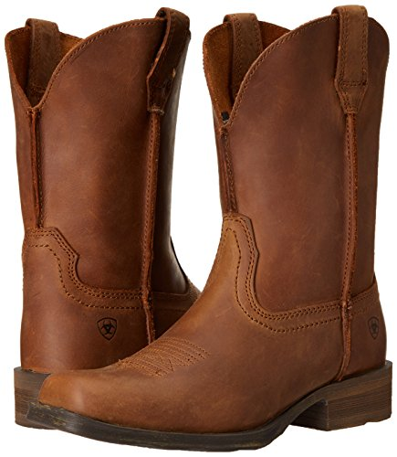 Ariat Rambler Boot Western Dusted Brown