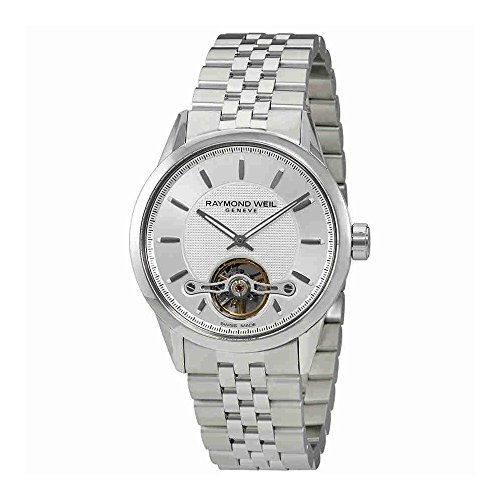Raymond Weil Men' s 42mm Steel Bracelet & case Automatic Watch 2780-st-65001