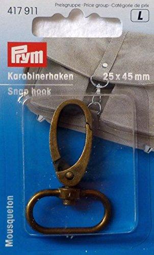 Prym Karabinerhaken antik 25mm (Großhandel Karabiner)