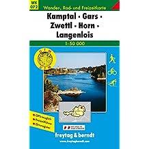 Freytag Berndt Wanderkarten, WK 072, Kamptal - Gars - Zwettl - Horn - Langenlois 1:50.000 (freytag & berndt Wander-Rad-Freizeitkarten)