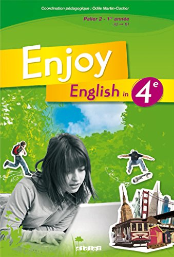Enjoy English 4e Manuel Numerique Eleve Methode D