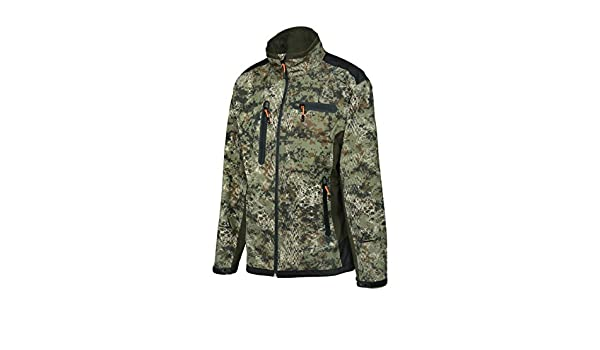 f9aec72fa5f7a Verney-Carron Hunting Softshell Jacket ghostcamo snakeforest Pro Hunt,  Camouflage, XXXXL: Amazon.co.uk: Sports & Outdoors