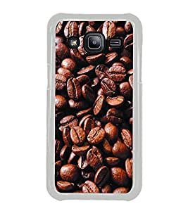 Coffee Beans 2D Hard Polycarbonate Designer Back Case Cover for Samsung Galaxy J2 J200G (2015) :: Samsung Galaxy J2 Duos :: Samsung Galaxy J2 J200F J200Y J200H J200GU
