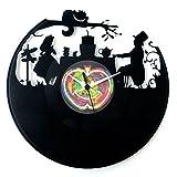 Geschenk Alice im Wunderland Zubehör Uhr Vinyl Uhr Cartoons Alice im Wunderland Tim Burton original VinyLuse