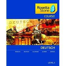 Rosetta Stone Course - Einstiegsniveau Deutsch Level 1 für Mac [Download]