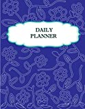 Daily Planner: Daily Planner journals List Pad - Easy to used Have a space to write todo , activity, goal ,meal , Note - 100 Pages enough for used /Matte Cover.