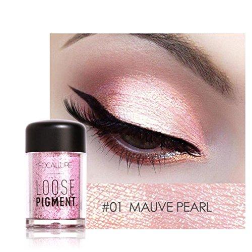 WYXlink Focallure 12 Farben Eye Shadow makeup Pearl Metallic eyeshadow Palette Test
