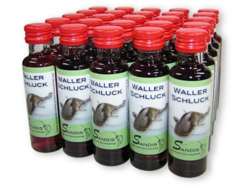 Preisvergleich Produktbild 25 x Leckerer Waller Schluck Kirschlikör mit Wodka 15 % VOL.