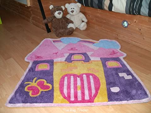 Kiddy Play Fairytale Castle Rug 90cm x