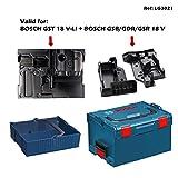 BOSCH L-Boxx 238 + Einlage GST 18 V-LI + 2 x Einlage GSB/GDR/GSR 18 V + Einhängekorb