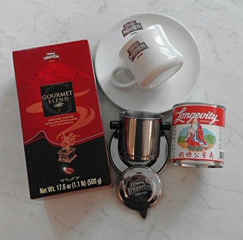 Vietnam Kaffee Starterpaket Trung Nguyen Gourmet Blend