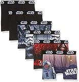 Star Wars Jungen Badehose Boxer, 6er Pack, Mehrfarbig (Multicolor B1), 152 (Herstellergröße: 10/12)