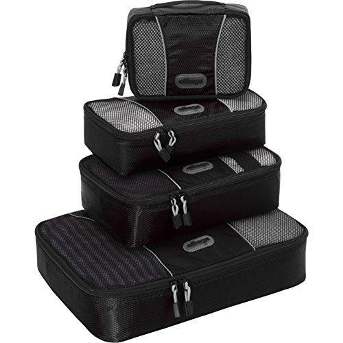 ebags-cubes-de-voyage-sacs-de-rangement-bagage-lot-de-4-petit-moyen-noir