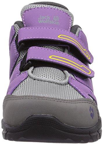Jack Wolfskin Volcano Vc Low G, Chaussures de randonnée fille Violet - Violett (wisteria 2061)