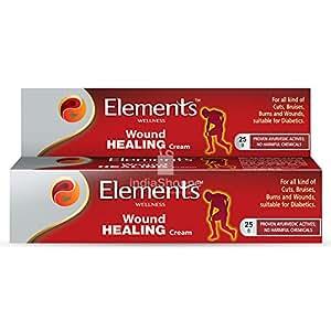 Elements Wound Healing Cream 25Gms (1.00)
