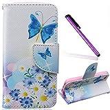 iPhone 5C Coque Swag Cuir,Coque Etui Housse pour iPhone 5C,iPhone 5C PU Leather Case...
