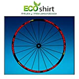 "PEGATINAS STICKERS LLANTA RIM MAVIC CROSSTRAIL BIKE 26"" 27,5"" AM58 MTB DOWNHILL (ROJO/RED 26"")"