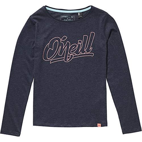 O'Neill Mädchen Kinder lang Night View T-Shirt LS Girls Shirts & Blusen, Ink Blue, 152